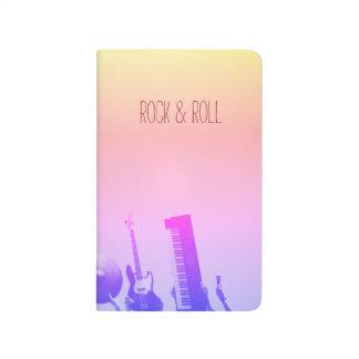 Rock & Roll Notebook - Customizable Journal
