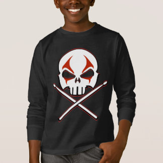 Rock & Roll Shirt Heavy Metal Drummer Kid's Shirt