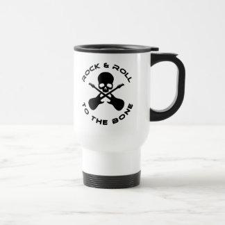 Rock & Roll To The Bone Travel Mug