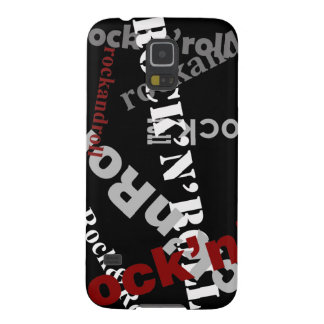 rock & roll typography music galaxy s5 covers