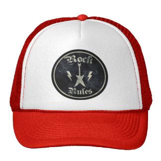 Rock Rules Mesh Hats