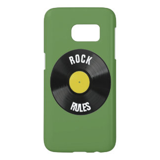 Rock Rules Samsung Galaxy S7 Case