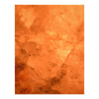 Rock Salt Lamp Letterhead Design