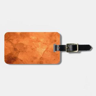 Rock Salt Lamp Luggage Tag