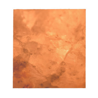 Rock Salt Lamp Notepad