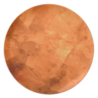 Rock Salt Lamp Plate