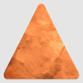 Rock Salt Lamp Triangle Sticker