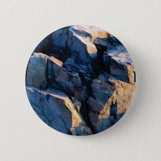 rock shadow texture 2 inch round button
