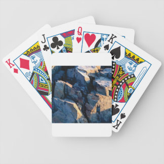rock shadow texture bicycle playing cards