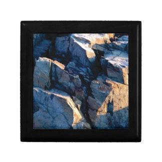 rock shadow texture gift box