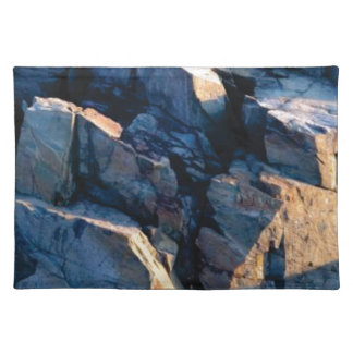 rock shadow texture placemat
