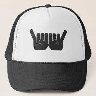 Rock Sign Double Trucker Hat