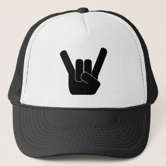 Rock Sign Trucker Hat