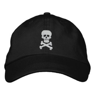 Rock Skull Adjustable Hat