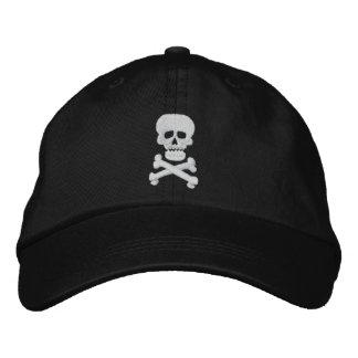 Rock Skull Adjustable Hat Baseball Cap