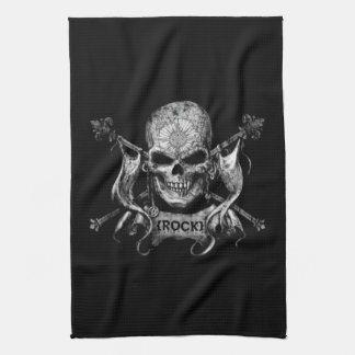 Rock Skull Kitchen Towel