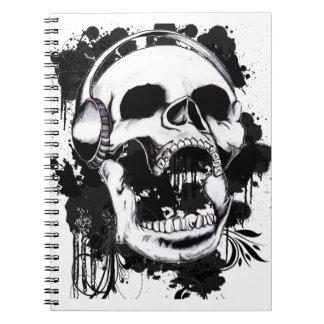 Rock Skull Notebooks