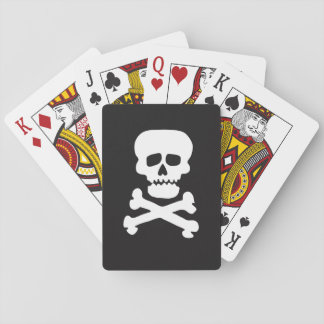 Rock Skull Playing Cards
