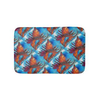 Rock Snail Shell Pattern Bathroom Mat