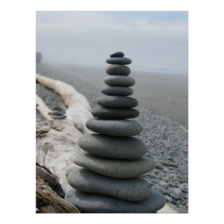 Rock Stack Poster