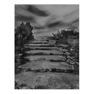 Rock Stairs Post Card