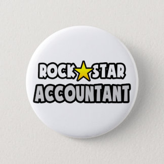 Rock Star Accountant 2 Inch Round Button