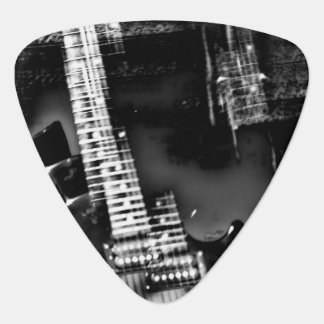 Rock Star an abstract electric guitar photograph Guitar Pick