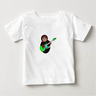 Rock star babushka baby T-Shirt