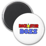 Rock Star Boss 2 Inch Round Magnet