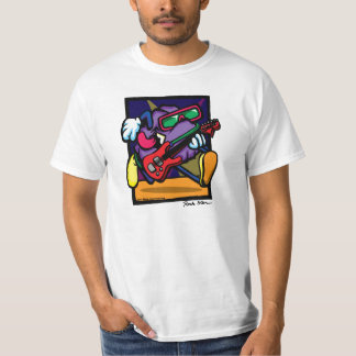 Rock Star by Dave Weiss American Pop T-shirts