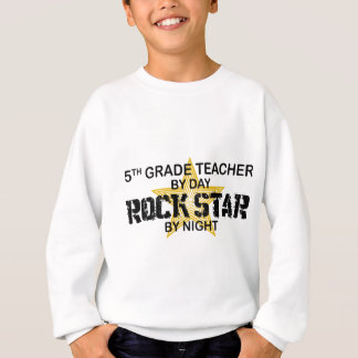 Rock Star by Night - 5th Grade Sweatshirt