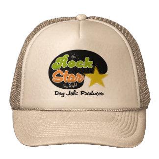 Rock Star By Night - Day Job Producer Trucker Hats