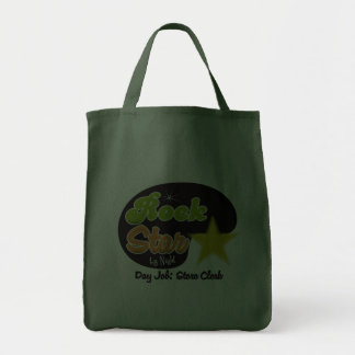 Rock Star By Night - Day Job Store Clerk Canvas Bags