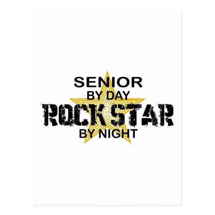 Rock Star by Night - Senior Postcard