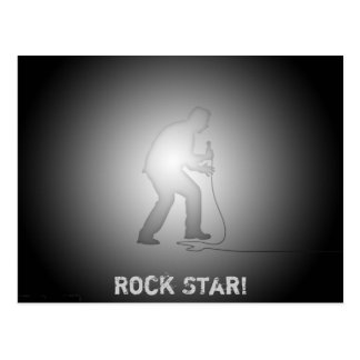 Rock Star! - Collectors Postcard