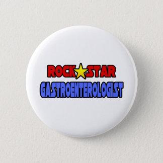 Rock Star Gastroenterologist 2 Inch Round Button