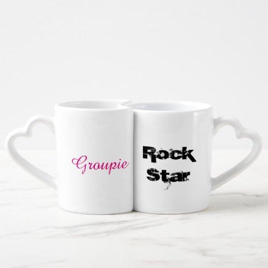 Rock Star & Groupie - Coffee Mug Set