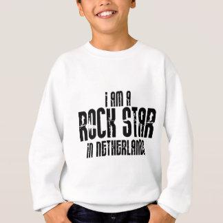 Rock Star In Netherlands Sweatshirt