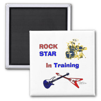 Rock Star In Training Magnet