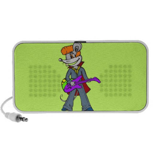 Rock Star Mouse Travelling Speakers