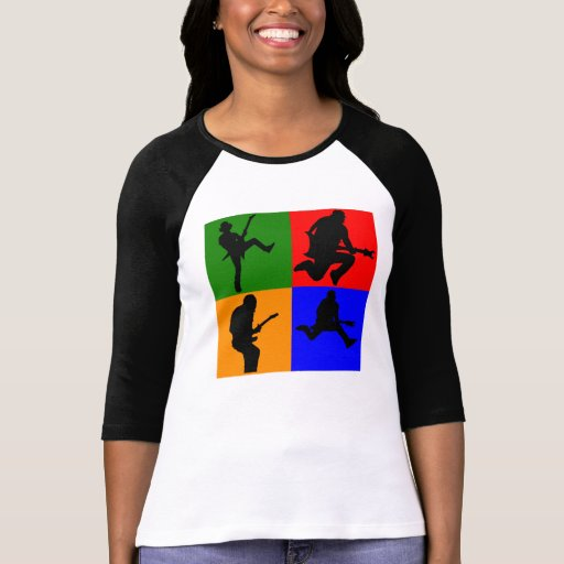 Rock Star Pop Art Tshirt