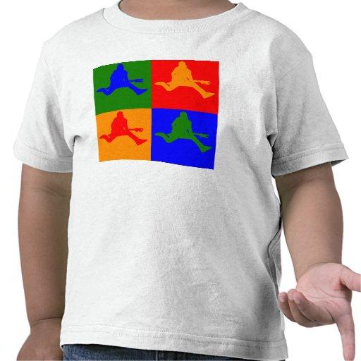 Rock Star Pop Art Tee Shirt