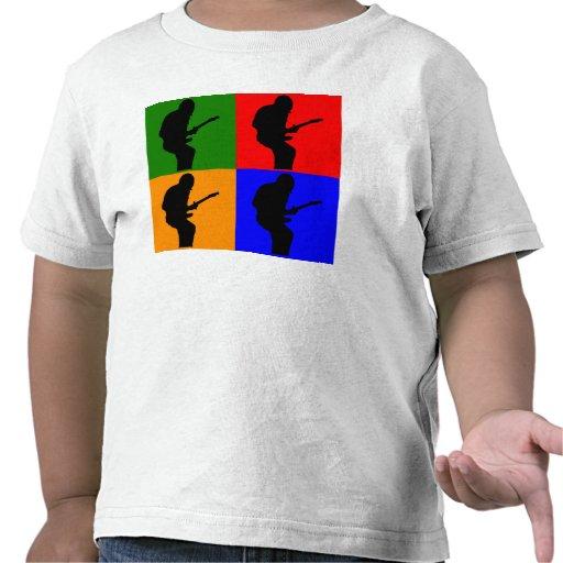 Rock Star Pop Art Tshirts