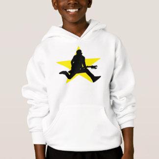 Rock Star Silhouette Kids Sweatshirt