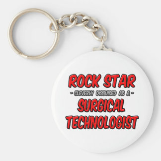 Rock Star .. Surgical Technologist Keychain