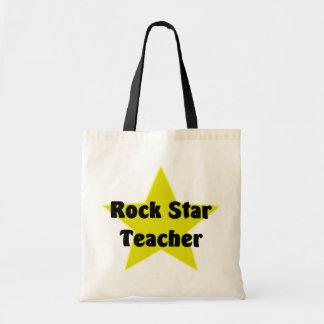 Rock Star Teacher Tote Bag