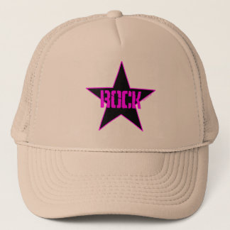 Rock Star Trucker's Hat, Mesh Hat