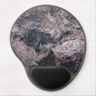 Rock Texture Pinkish with Candy Gel Mouse Pad