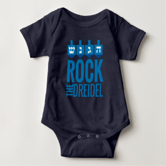 Rock the dreidel Baby Outfit Baby Bodysuit