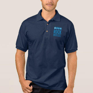 Rock the dreidel Mens Polo Shirt